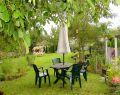 Goed onderhouden tuin van het Vlinderhuis